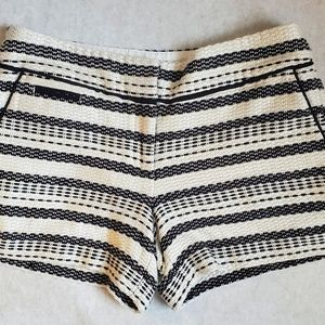 Loft Women's Shorts Black and White Size 2